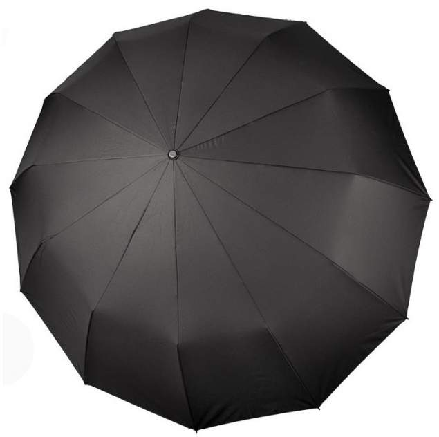 Зонт мужской Три Слона 7125 чёрный