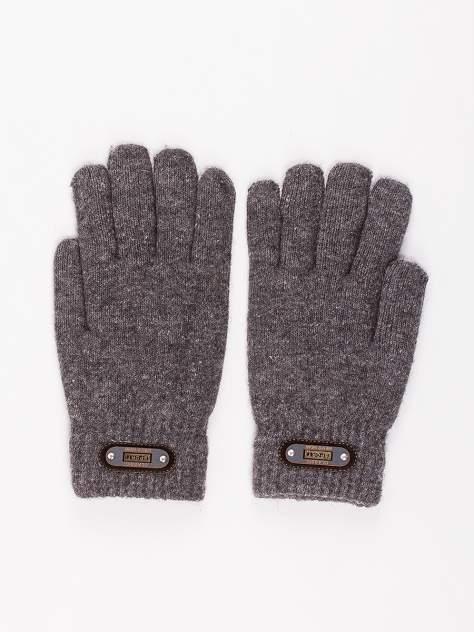 Мужские перчатки DAIROS GD71700309, серый