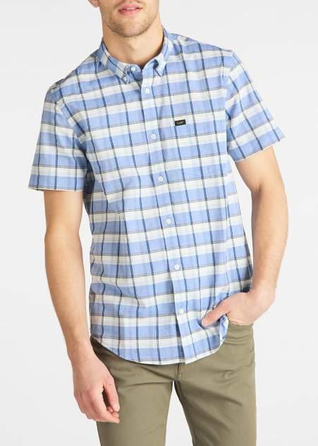 Рубашка мужская Lee L886DGNJ голубая S