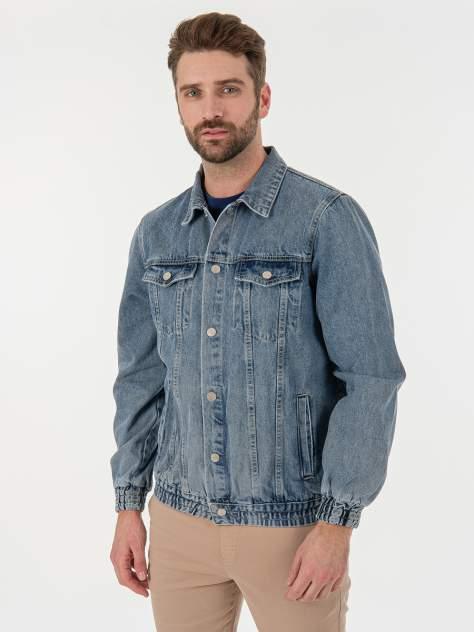 Мужская джинсовая куртка MOSSMORE GD46900230, синий