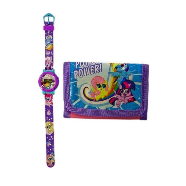 Часы и кошелёк My Little Pony MLP47175 модный набор