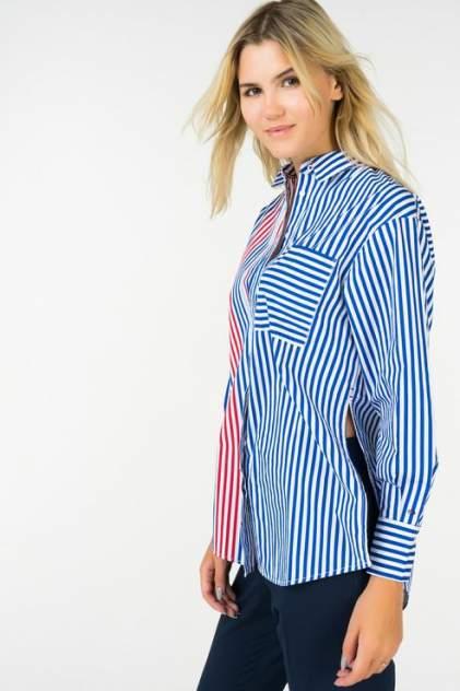 Рубашка женская Tommy Hilfiger 1400000906/3 голубая 40