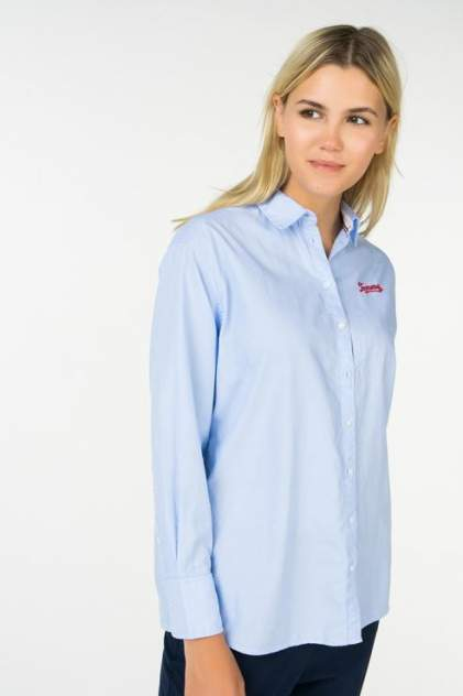 Рубашка женская Tommy Hilfiger 1400000906/2 голубая 42