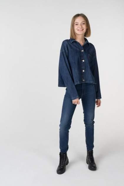 Рубашка женская Levi's 1400000734/3 синяя 46