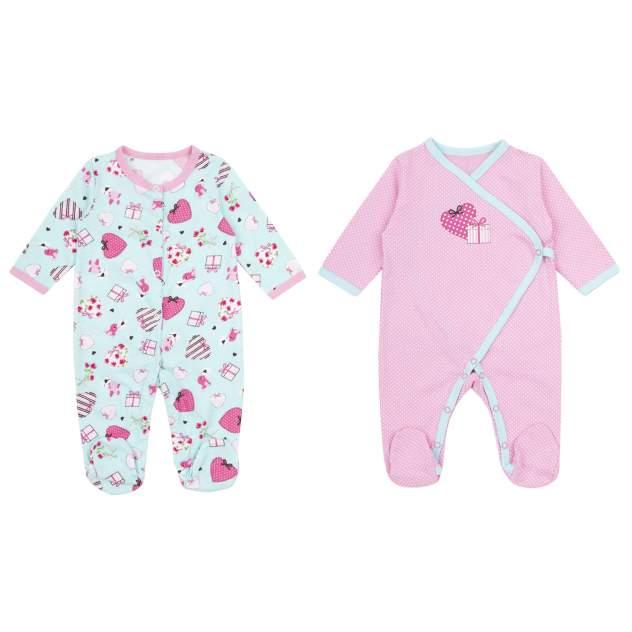 Комбинезон детский Leader Kids, цв.розовый, бирюзовый