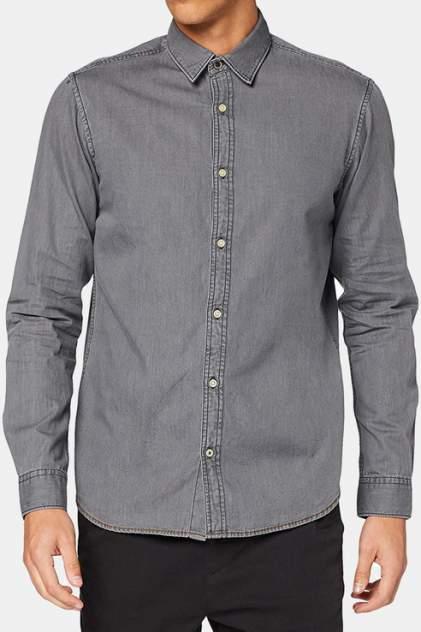 Рубашка мужская Jack & Jones 1400000706/1 серая 48