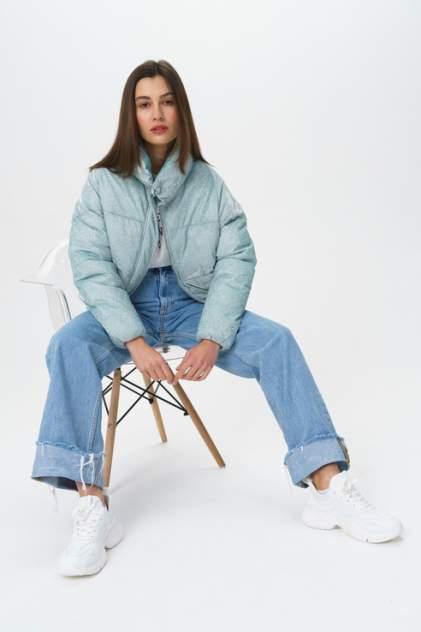Куртка женская KZELL 1500071364/7 бирюзовая 48