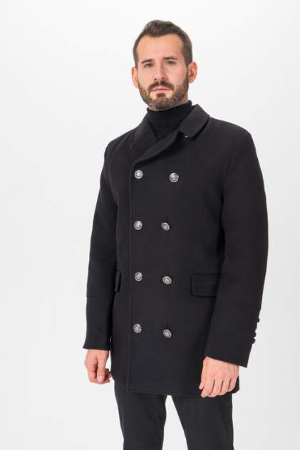 Пальто мужское Envy Lab 1500078873/32 черное 48