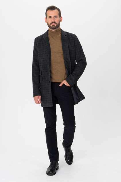 Мужское пальто Envy Lab 1500078873/14, серый