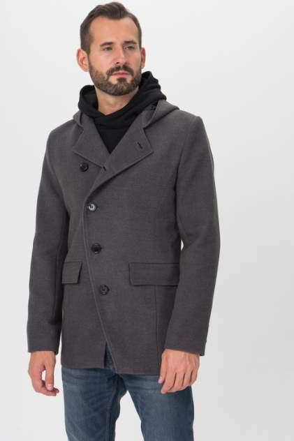 Пальто мужское Envy Lab 1500078873/4 серое 46