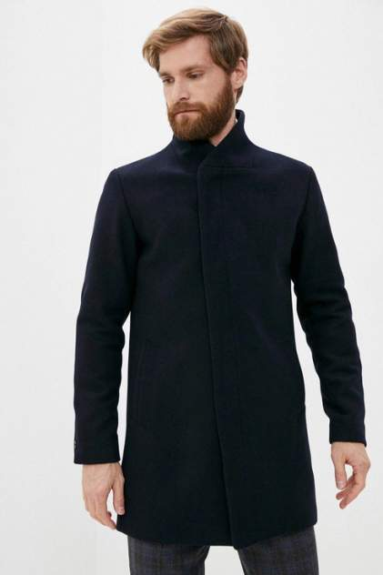 Пальто мужское Jack & Jones 1400000706/3 синее 46
