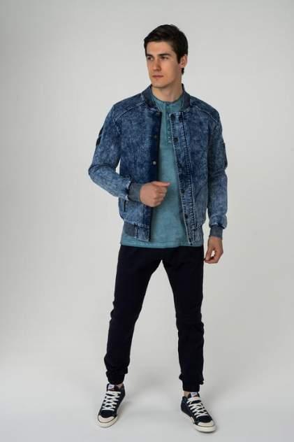 Мужская джинсовая куртка OMBRE 1400000795, синий