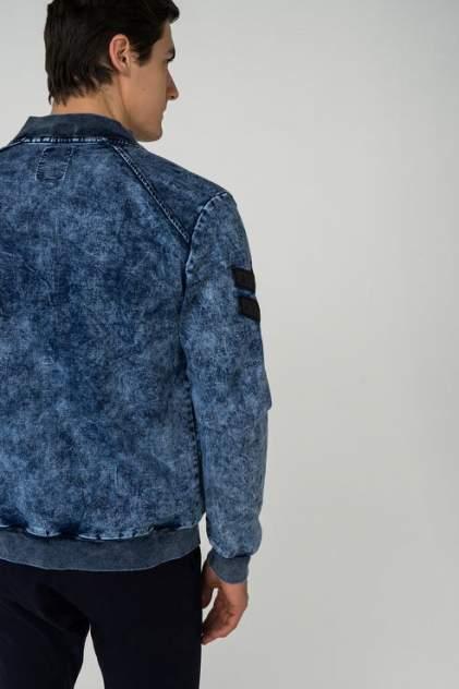 Джинсовая куртка мужская OMBRE 1400000795 синяя 44-46
