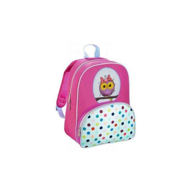 Рюкзак детский Hama Дошкольный ортопедический Sweet Owl 18 л голубой розовый 00139105