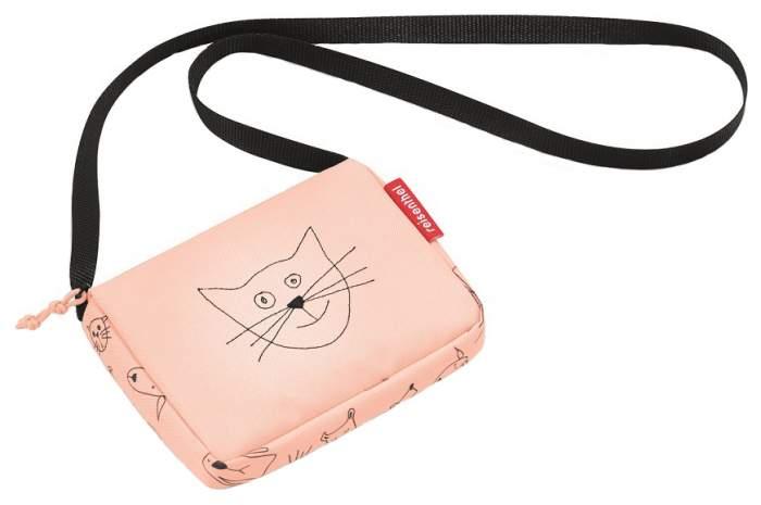 Сумка детская Reisenthel itbag cats and dogs rose для девочек Розовый JA3064