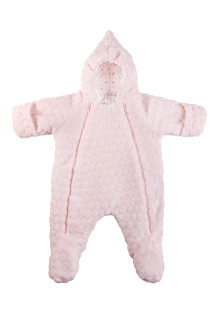 Комбинезон Сонный гномик Буль-буль светло-розовый, размер 68