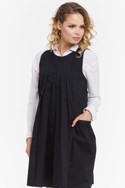 Платье женское VAY 182-3449 черное 44 RU