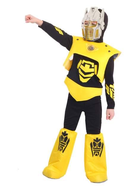 Карнавальный костюм Батик, цв. желтый, черный