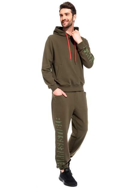 Мужской костюм Peche Monnaie Adventure France 38, зеленый