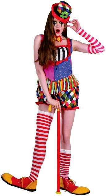Карнавальный костюм Bristol Клоун, цв. разноцветный р.170