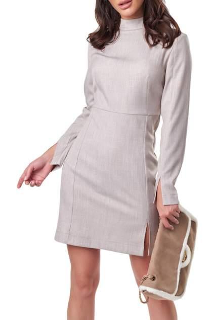 Платье женское Fly 893-06 бежевое 40 RU