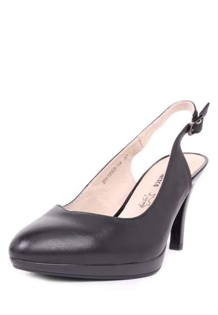 Туфли женские Alessio Nesca 710017767 черные 36 RU