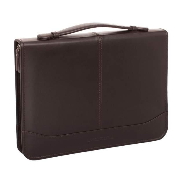 Папка для документов кожаная Lakestone 961001/BR коричневая