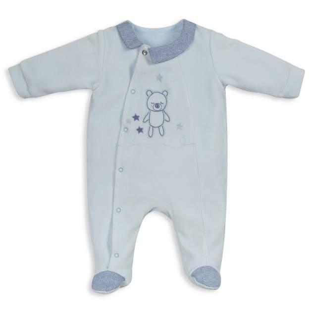 Комбинезон детский RBC МЛ 383190 голубой р.56