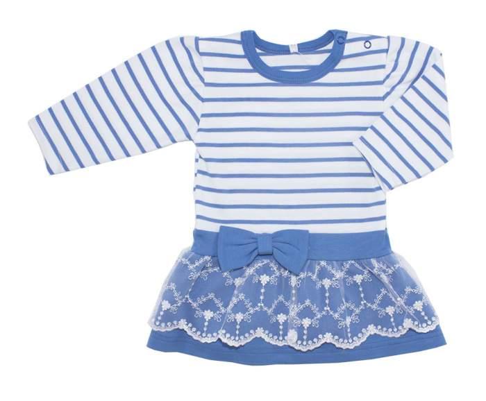 Платье детское Осьминожка, цв.голубой