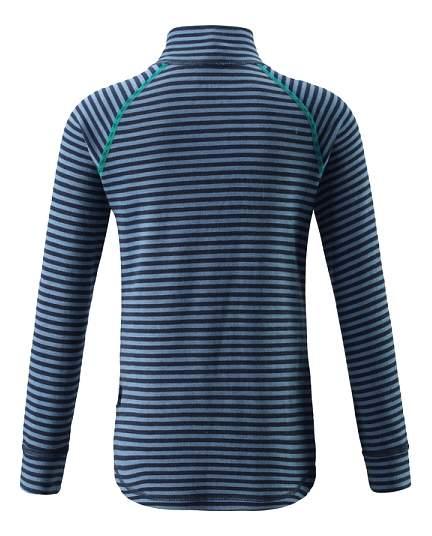 Джемпер Reima Tavast темно-синий в полоску 80 размер