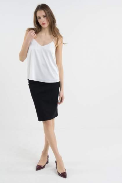 Топ женский T-Skirt 16SS-04-0119-BS белый 40 RU