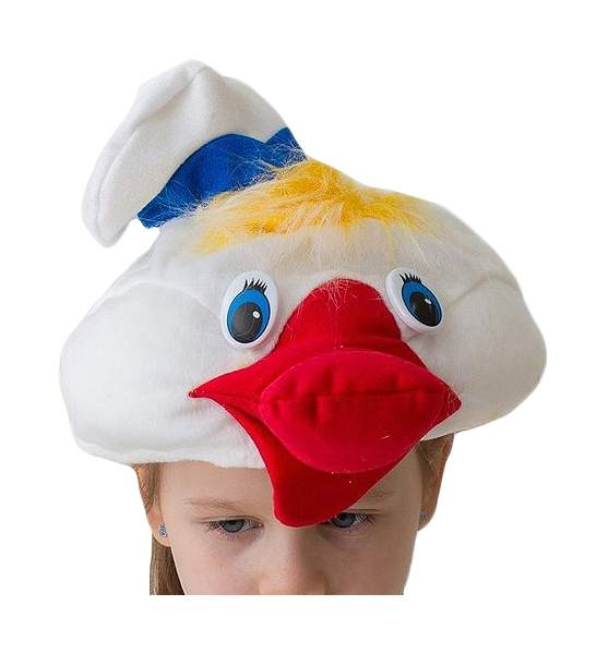 Карнавальная шапка Утенок, 54-56 см 1149