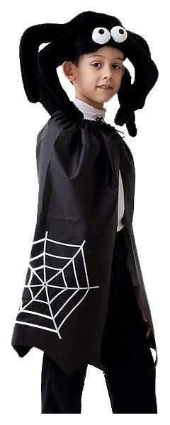 Карнавальный костюм Бока Паук, цв. черный р.104