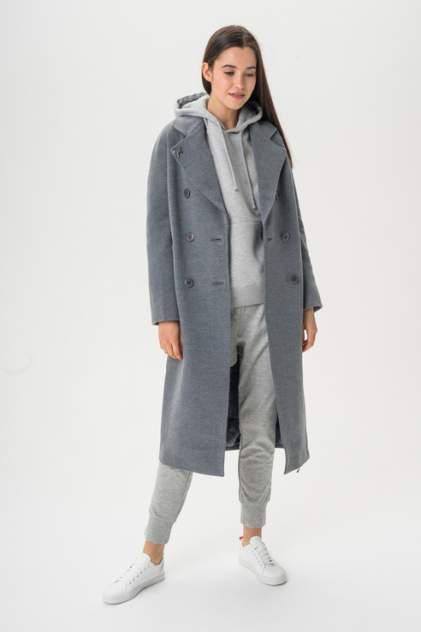 Пальто женское ElectraStyle 5-8117/3-128 серое 46 RU