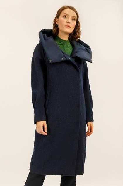 Женское пальто Finn Flare A19-12045, синий