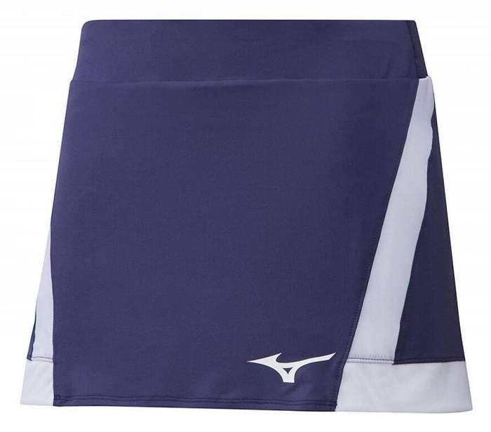 Спортивная юбка Mizuno Flex Skort, фиолетовая, S