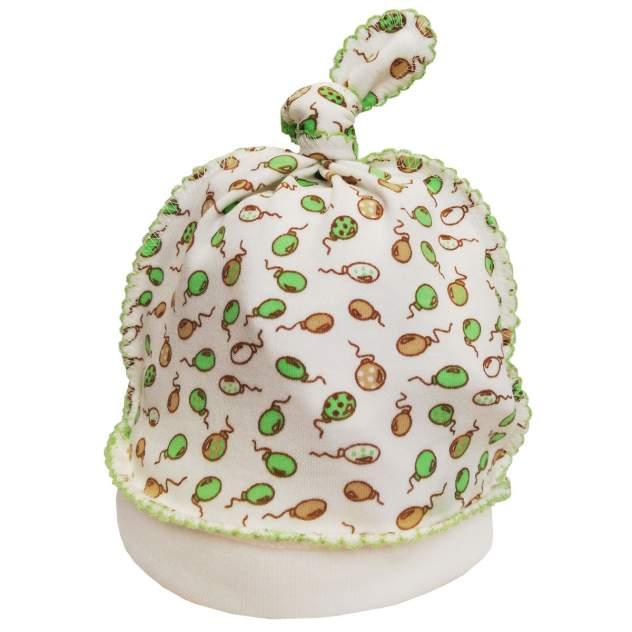 Шапка детская Папитто Гномик Воздушные шарики салатовый р.40 И410-02