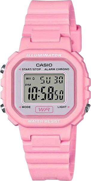 Наручные часы электронные женские Casio Collection LA-20WH-4A1