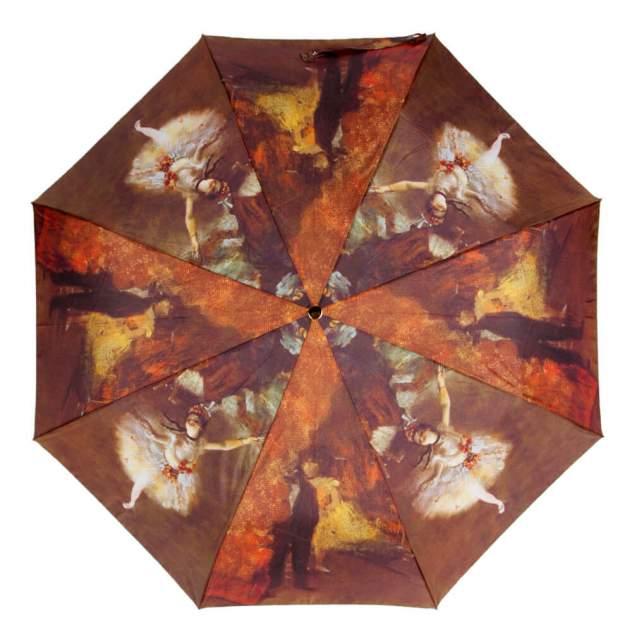 Зонт складной женский автоматический Guy De Jean GDJ/6410-OC/Degas коричневый