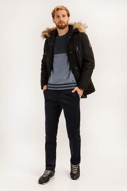 Пальто мужское Finn Flare A19-22014 черное 3XL