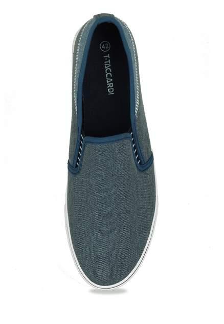 Слипоны мужские T.Taccardi 710018768 синие 43 RU