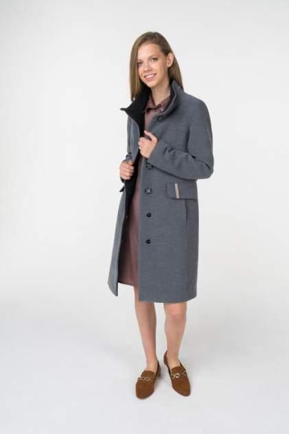 Пальто женское ElectraStyle 3-8115-128 серое 42 RU