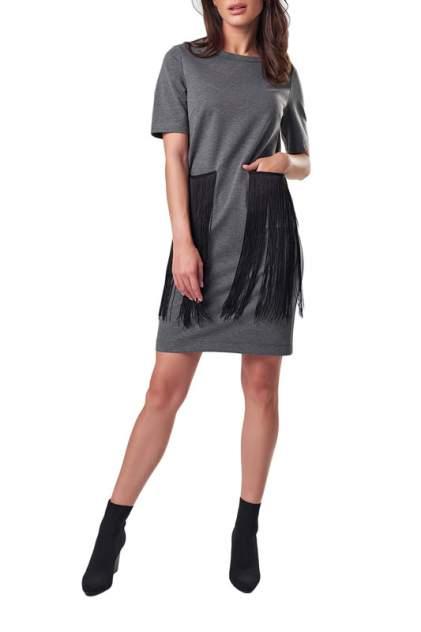 Платье женское Fly 897-11 серое 40 RU