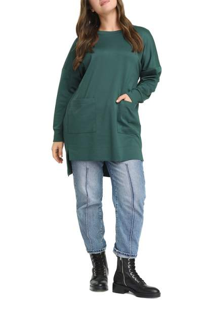 Туника женская SVESTA T2332VER зеленая 60 RU