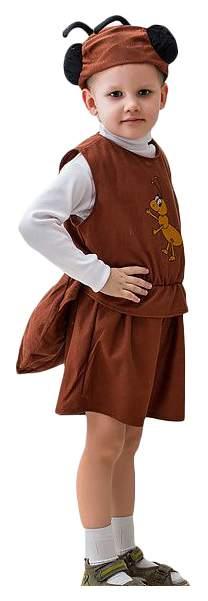 Карнавальный костюм Бока Муравей, цв. коричневый р.122