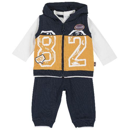 Спортивный костюм Chicco для мальчиков р.74 цв.темно-синий