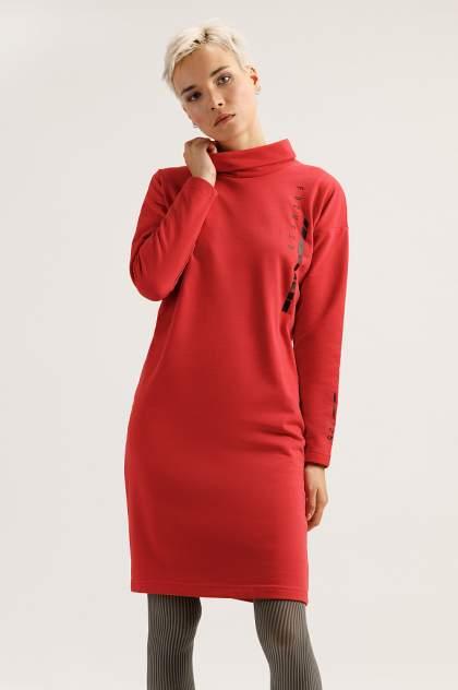 Женское платье Finn Flare A19-32037, красный