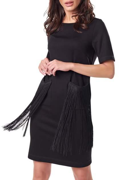 Платье женское Fly 897-01 черное 40 RU