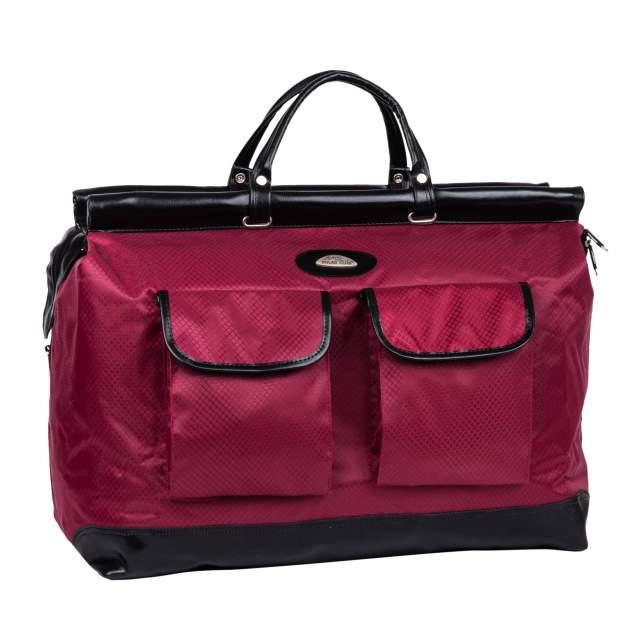 Дорожная сумка Polar 8021 бордовая 52 x 40 x 23