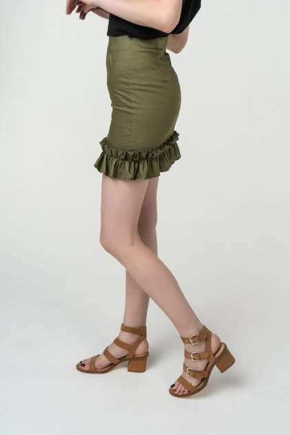 Юбка женская Fashion.Love.Story. 18SP6032 зеленая 40 RU